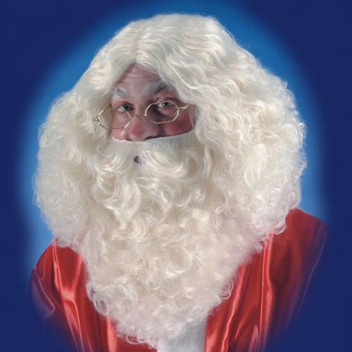 Hair Beard & Wig Santa Natural Christmas Festive Seasonal Holidays